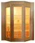 Finská sauna DeLuxe HR4045 V-GARDEN, HealthLand